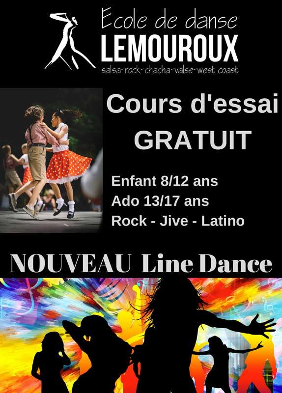 Nouveautés Saison 2019/2020: LINE DANCE